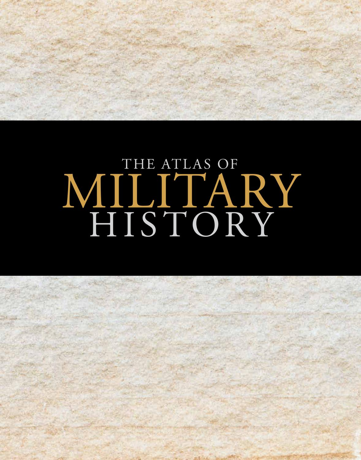 Atlas of Military History by Amanda Lomazoff